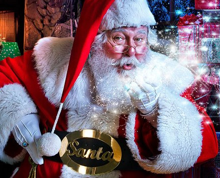 M Letter In Silver FREE PHOTO with SANTA ...